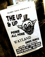 The Up & Up ~ at 1982 in Gainesville with Mine All Mine (Miami), Wayland and Annie James - 02/10/2013...