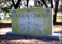 Rousseau Pioneer Cemetery ~ Clearwater, Florida (Pinellas County)