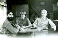 Johnny, Rick and Keith at the old Ralph's Bar in San Antonio about 1976