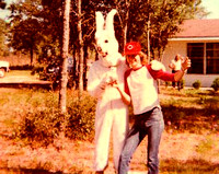Johnny Rabbit and Rick, Easter 1977