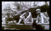 John, Jack and Keith out getting into trouble on the Withlacoochee River about 1978