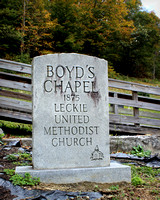 Boyd's Chapel Cemetery ~ Leckie, West Virginia (McDowell County)